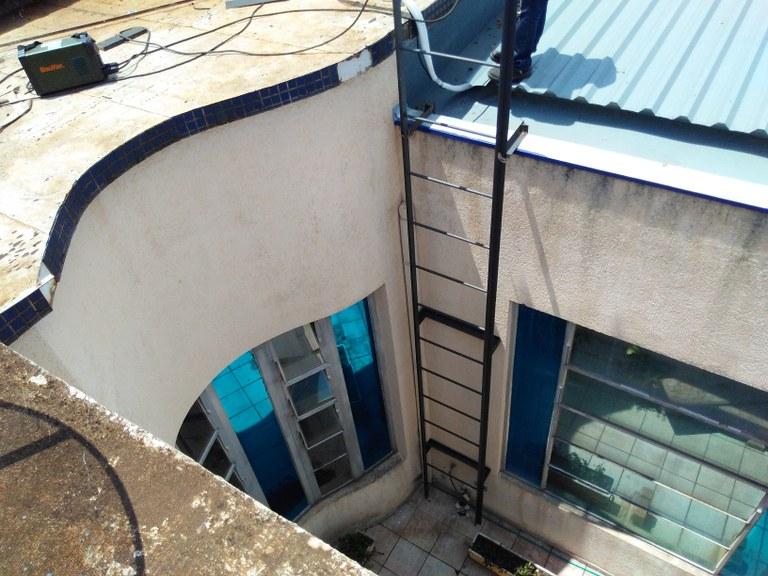 Instalação da Escada Marinheiro