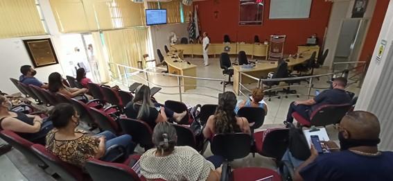 Audiência pública da Saúde. (Imagem: Denílson Lopes de Andrade)