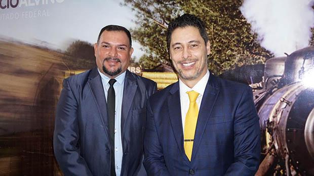 Em 2019, o presidente Zé Roberto esteve em Brasília, com deputado federal Márcio Alvino. (Imagem: rede social – Zé Roberto)